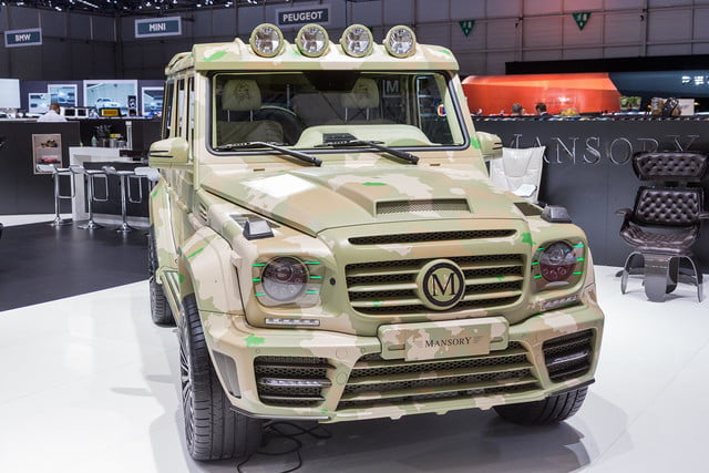 mansory g wagen sahara edition pictures and specs wagon 3