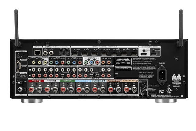 marantz sr5011 network av receiver announced rear