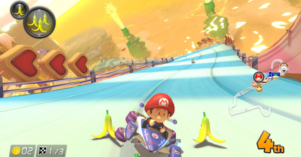 Nintendo follows up on 'Mario Kart 8 Deluxe' by teasing new content