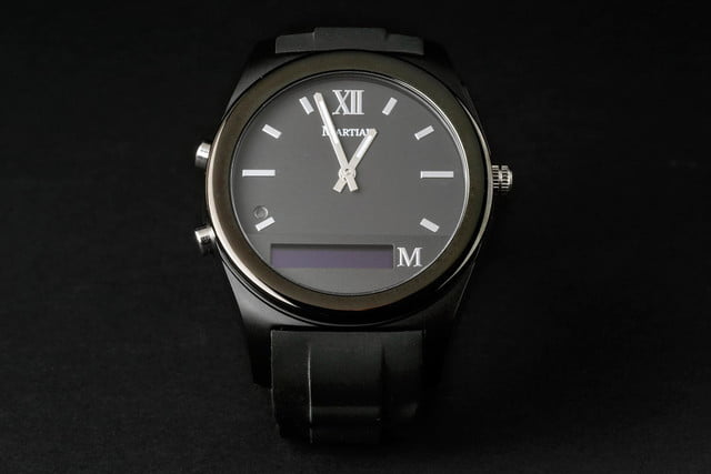 Martian Notifier Watch review front