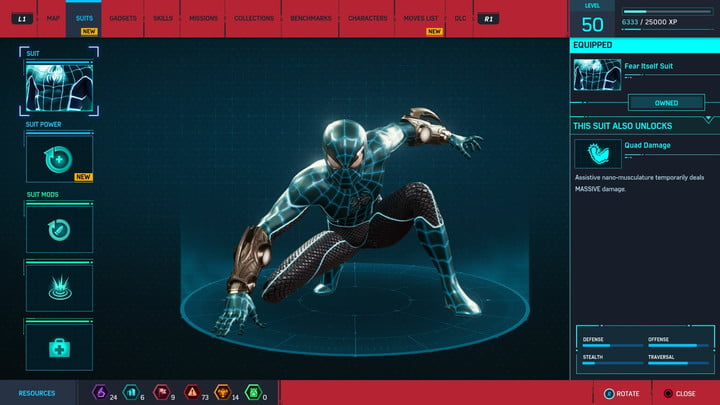 marvels spider man ps4 how to unlock every suit marvel s 20181213103458