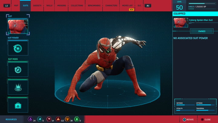 marvels spider man ps4 how to unlock every suit marvel s 20181222170804