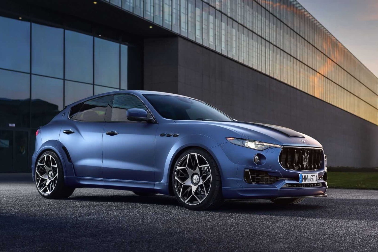 novitech shows the tuning potential of maserati's levante suv