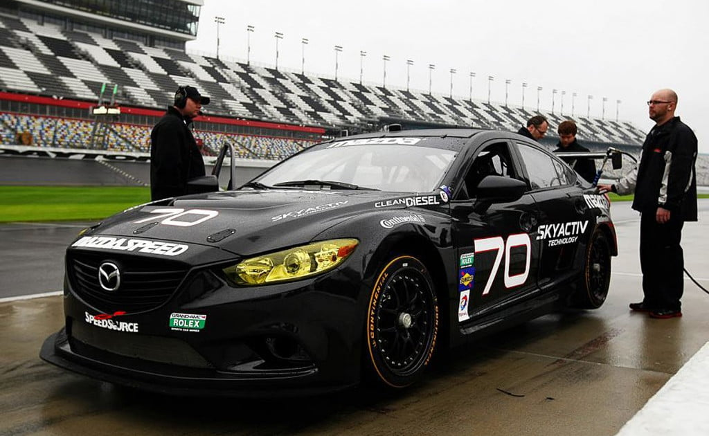 Mazda6 Skyactiv Diesel To Race At 24 Hours Of Daytona