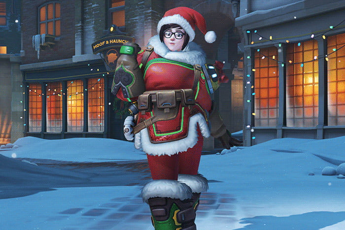 blizzard is sorry for disappointing you with overwatch character meis winter skin mei wonderland
