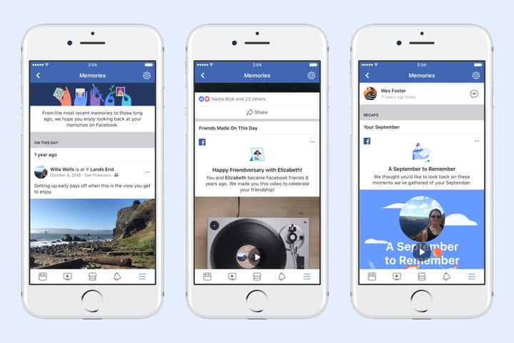 facebook memories refreshed product flow copy