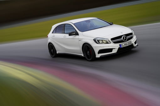 Mercedes benz a45 amg sports 360 hp 20 liter engine digital trends fandeluxe Gallery