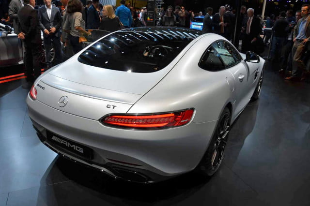 range topping mercedes amg gt edition 1 leaks paris showcase 7
