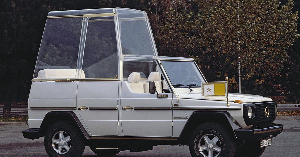 10 Sweet Popemobiles That Will Make You Wish You Held The