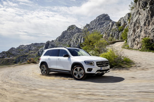2020 mercedes benz glb is a g class for the masses  x247 2019