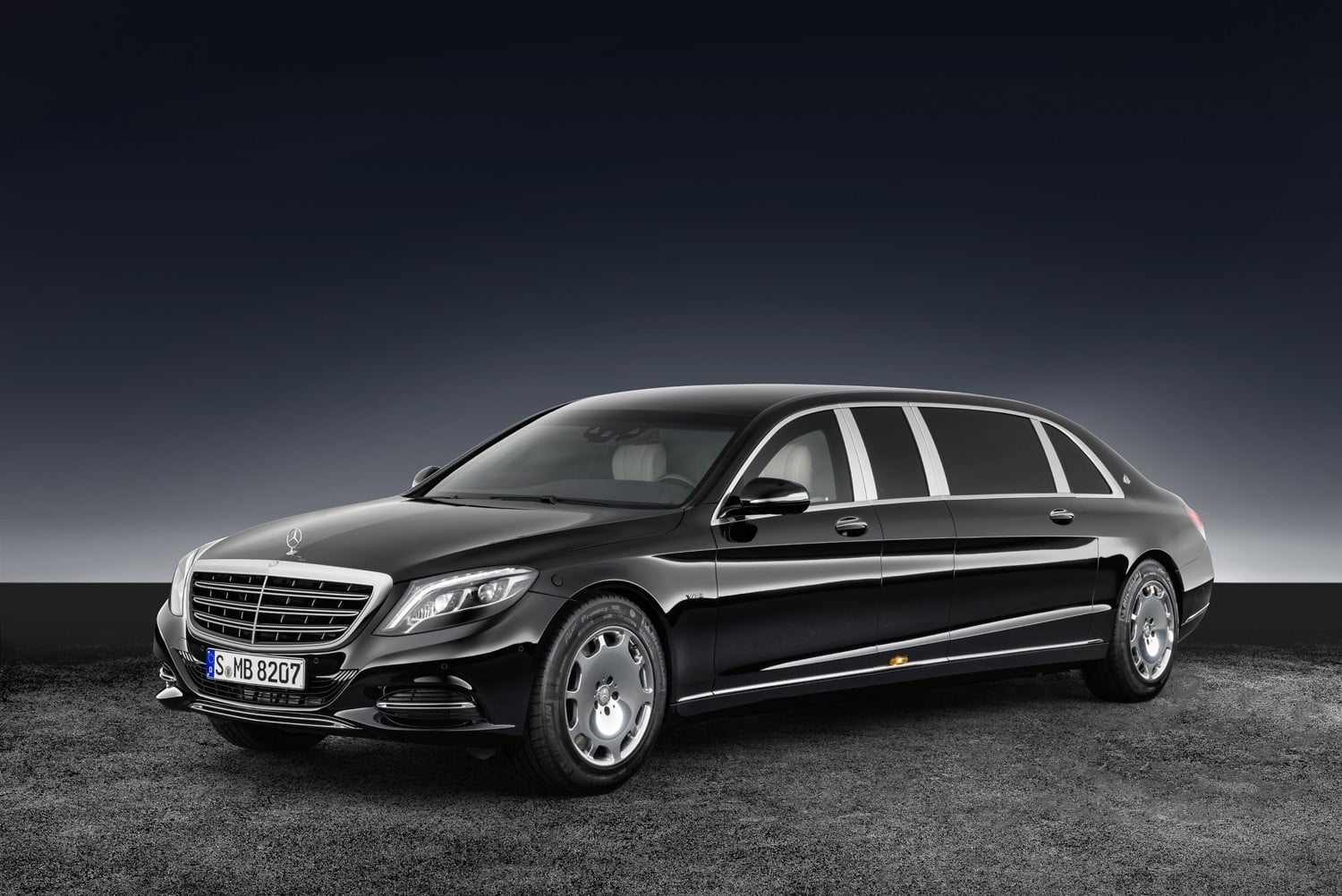 MercedesMaybachs Armored S Is Built Like A Tank With A Price - 1 million mercedes coolest armoured vehicle ever