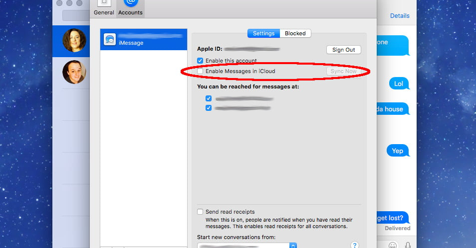 how to connect iphone messages to mac the version of macos stores your messages in apple 6414