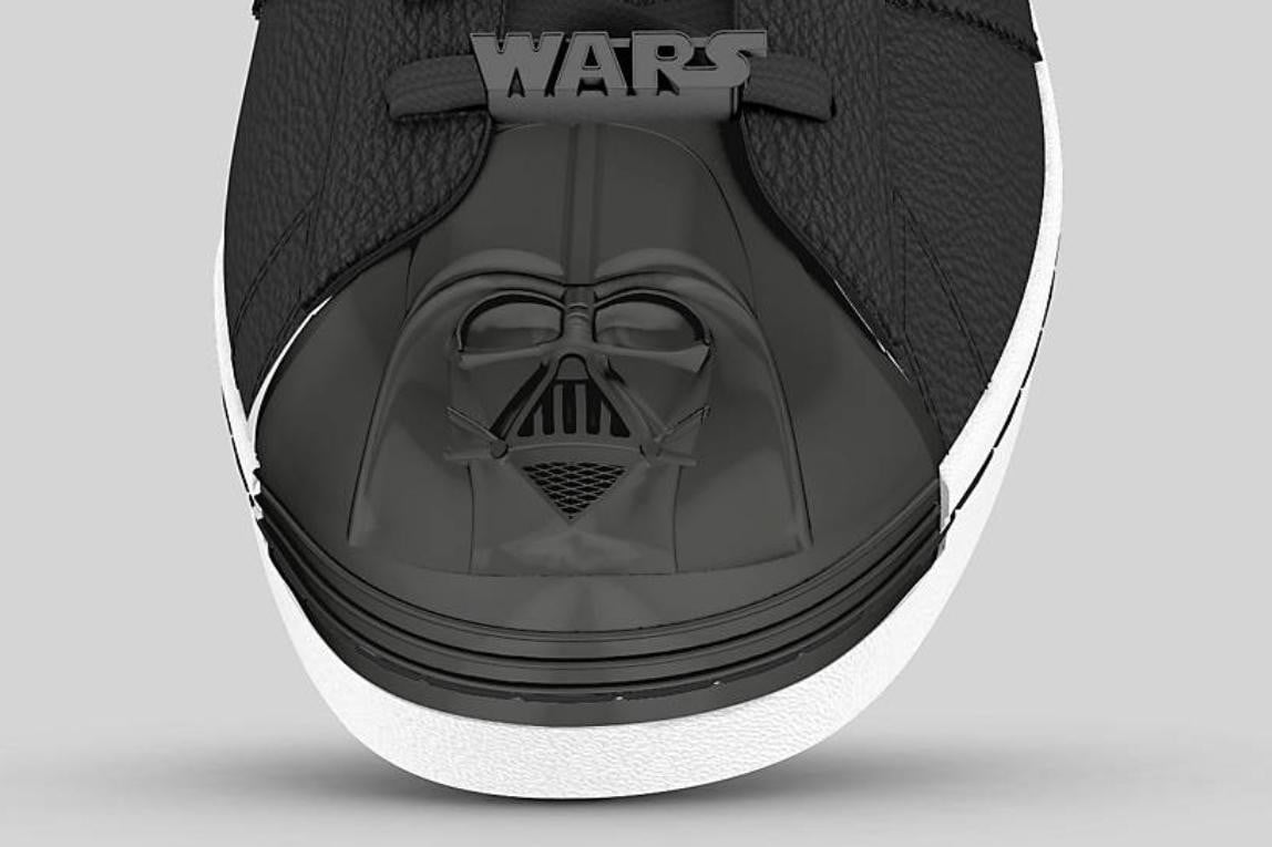 1d602b86d0106 Customizable Adidas sneakers with Star Wars branding