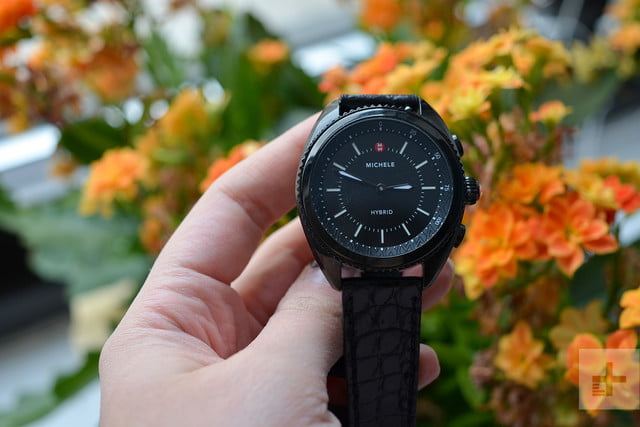 michele hybrid smartwatch review flowers