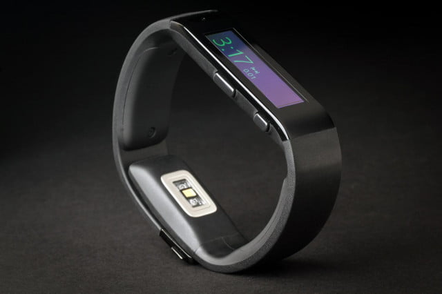 Microsoft Fitness band review bottom angle
