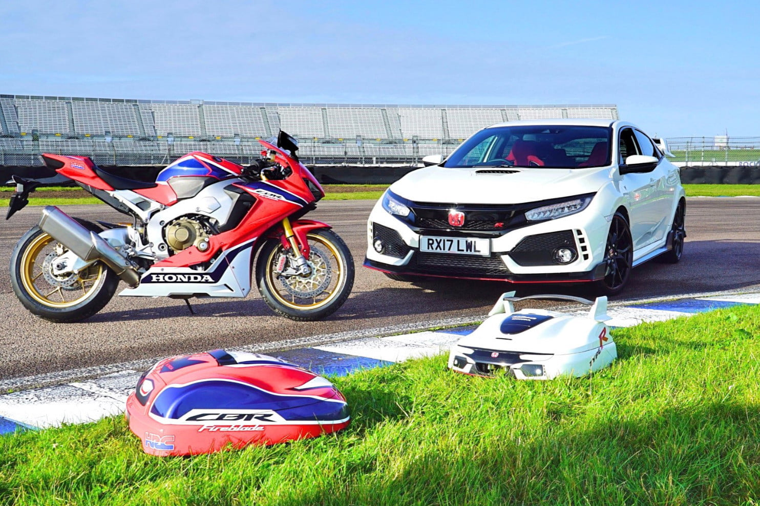 Hondas Miimo Type R Smart Mower Takes After The Civic Hot Hatch