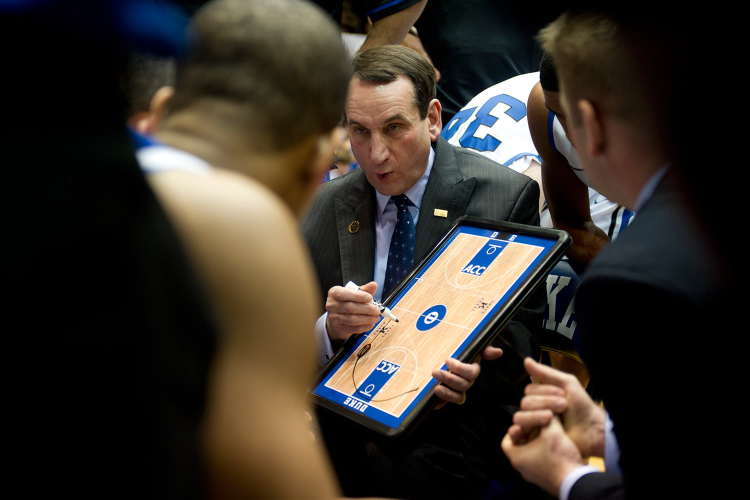 online store 58756 7d1c3 ... his third national championship title in 10 years as the head coach of  the Duke Bluedevils, Coach Mike Krzyzewski signed a deal with Duke to coach  there ...