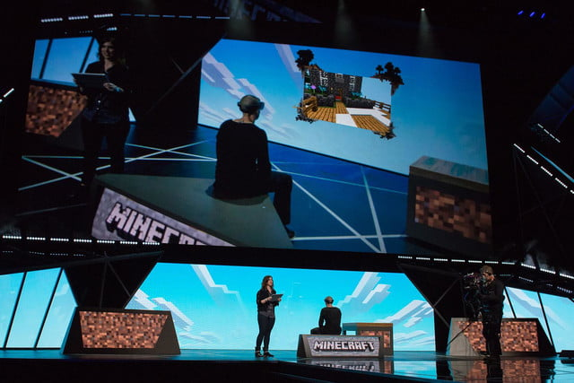 Minecraft for Microsoft HoloLens