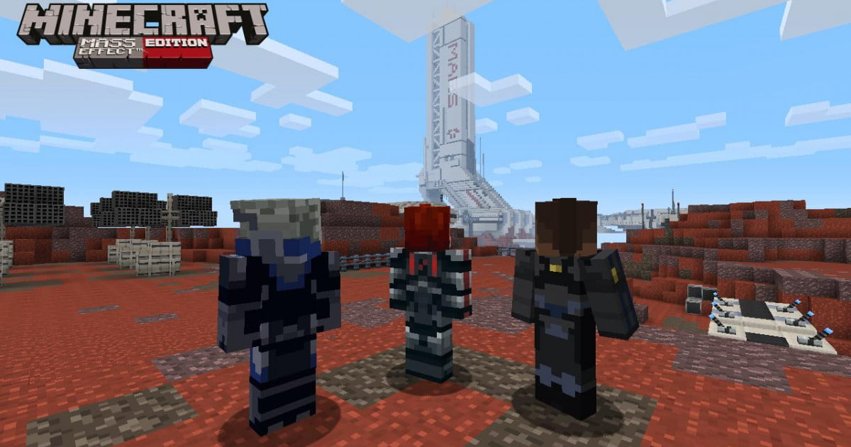 Mass Effect comes to Minecraft on Xbox 360 in the first ...