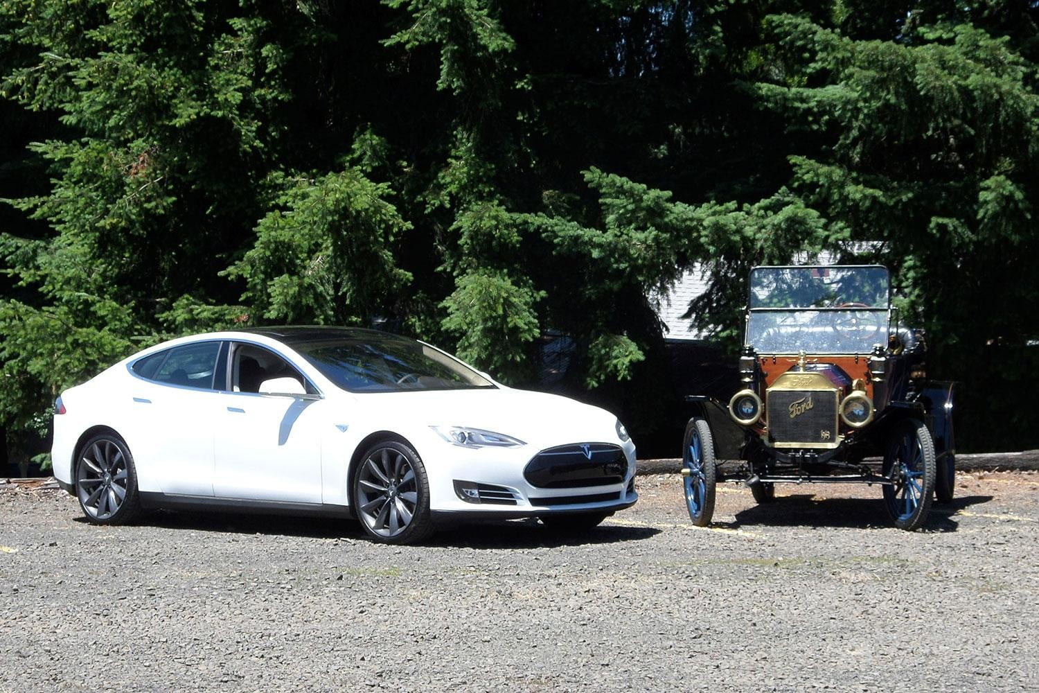 From Hand Cranking To Charging Why Tesla S Model Is The T Of Our Time