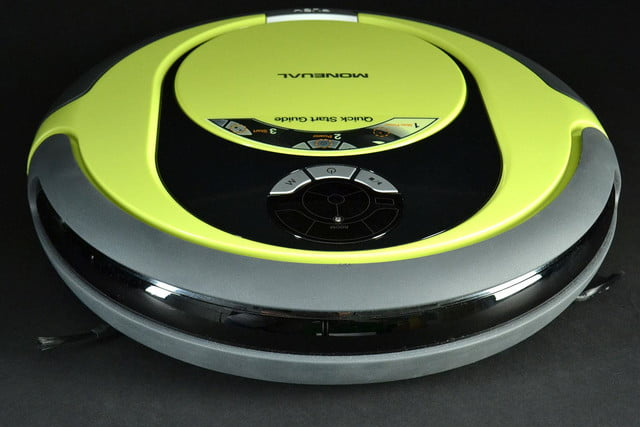 moneual rydis mr6550 vacuum front top angle