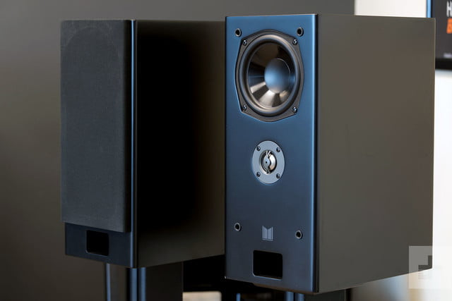 Monoprice Monolith K Bas review speakers side