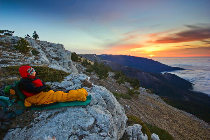 mountaineering sleeping bag