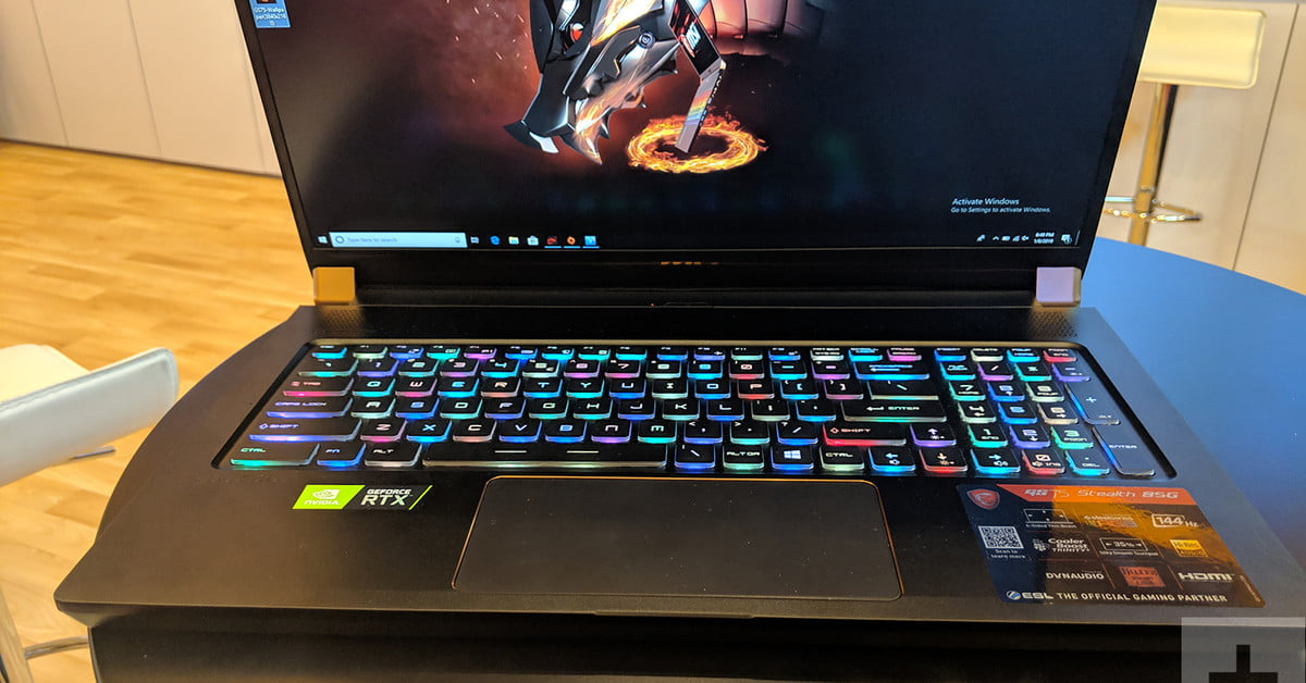 MSI GS75 Stealth hands-on review