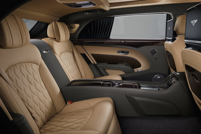 bentley engineering boss interview mulsanne extended whelbase rear cabin side