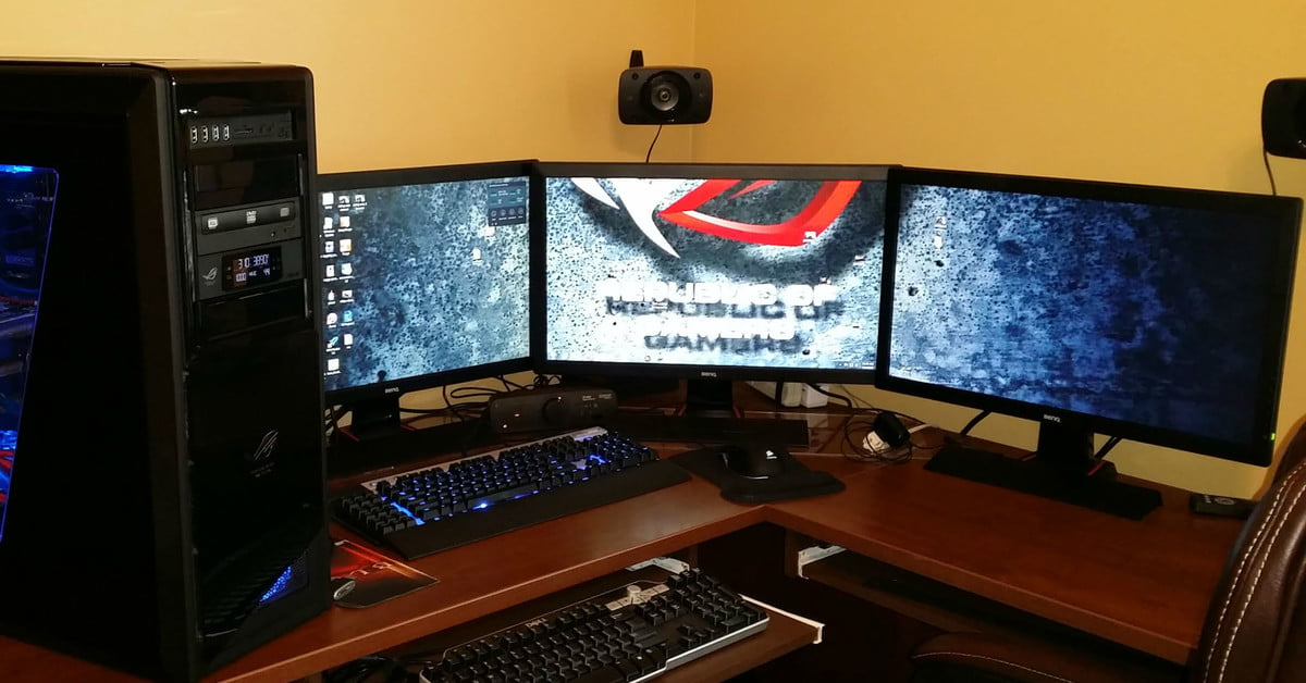 How To Set Up Multiple Monitors For Pc Gaming Digital Trends