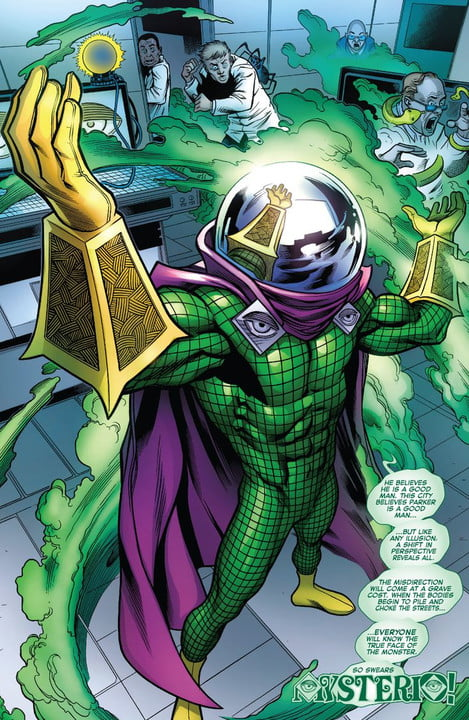 spider man far from home news cast mysterio