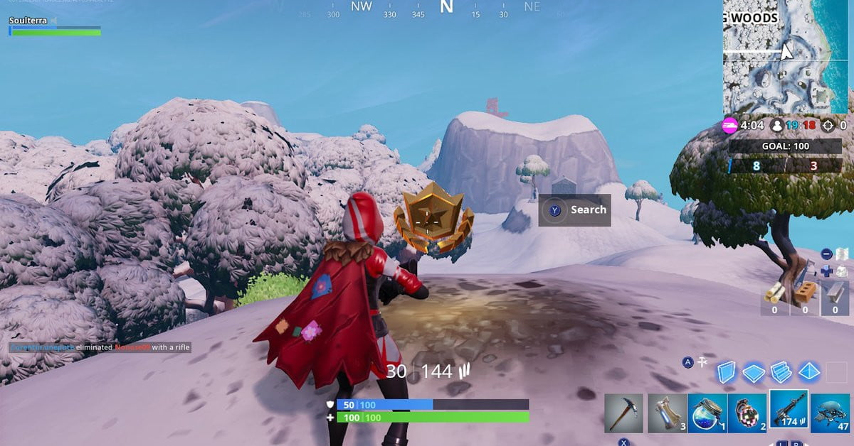 fortnite season 7 week 8 challenge guide search a hatch rock lady and flatbed - fortnite challenge guide week 8