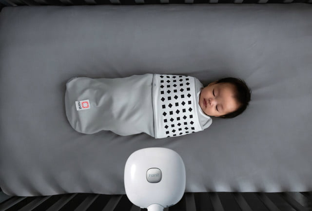nanit breathing wear ces 2019 swaddle