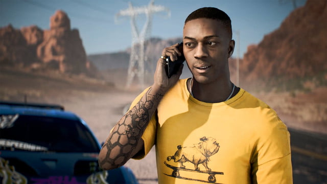 Need for Speed Payback review character phone