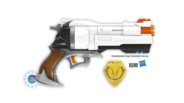 overwatch mccree nerf blaster announced rival edition image