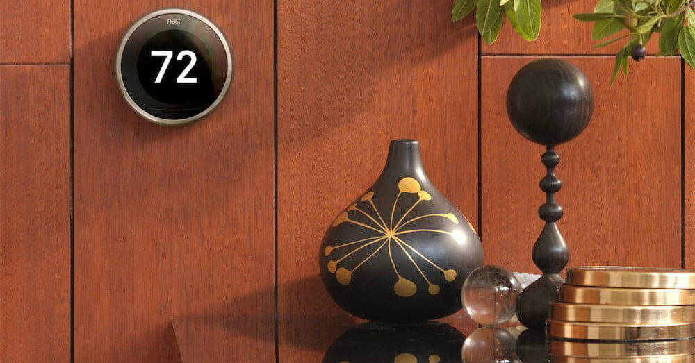 lowe 39 s includes a free google home mini with nest smart thermostats digital trends. Black Bedroom Furniture Sets. Home Design Ideas