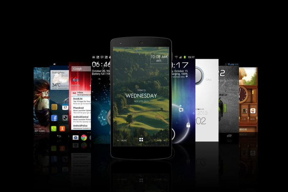 new android home screen 970x0 - A new year deserves a new Android homescreen (so try one of these)