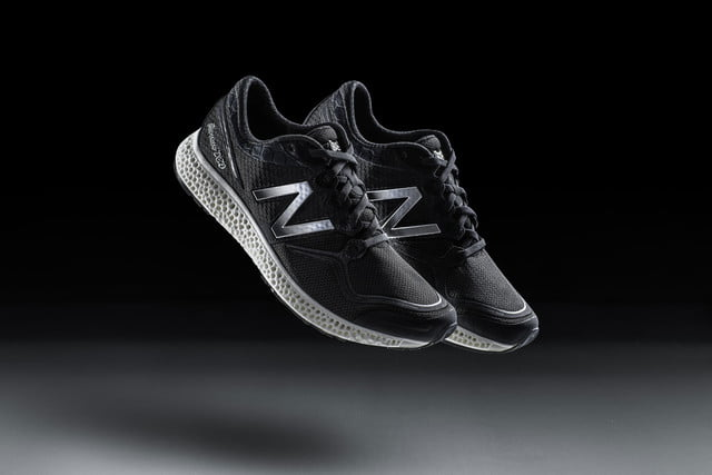 stepping up their game new balance just 3d printed running shoe components 3