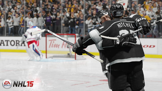 NHL 15 screenshot 2