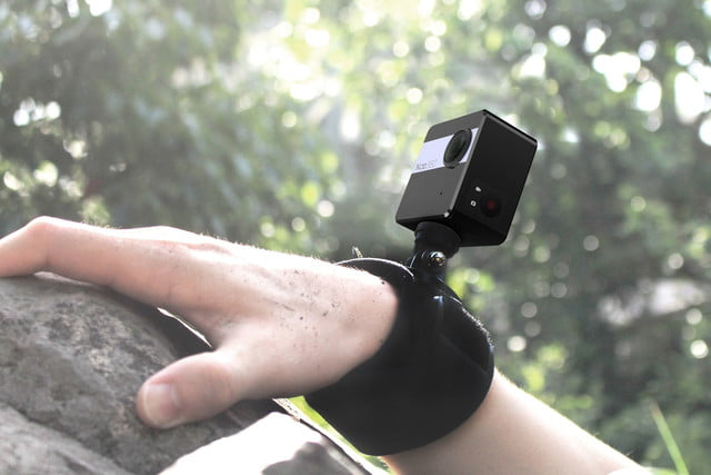 nico360 vr camera attached to arm