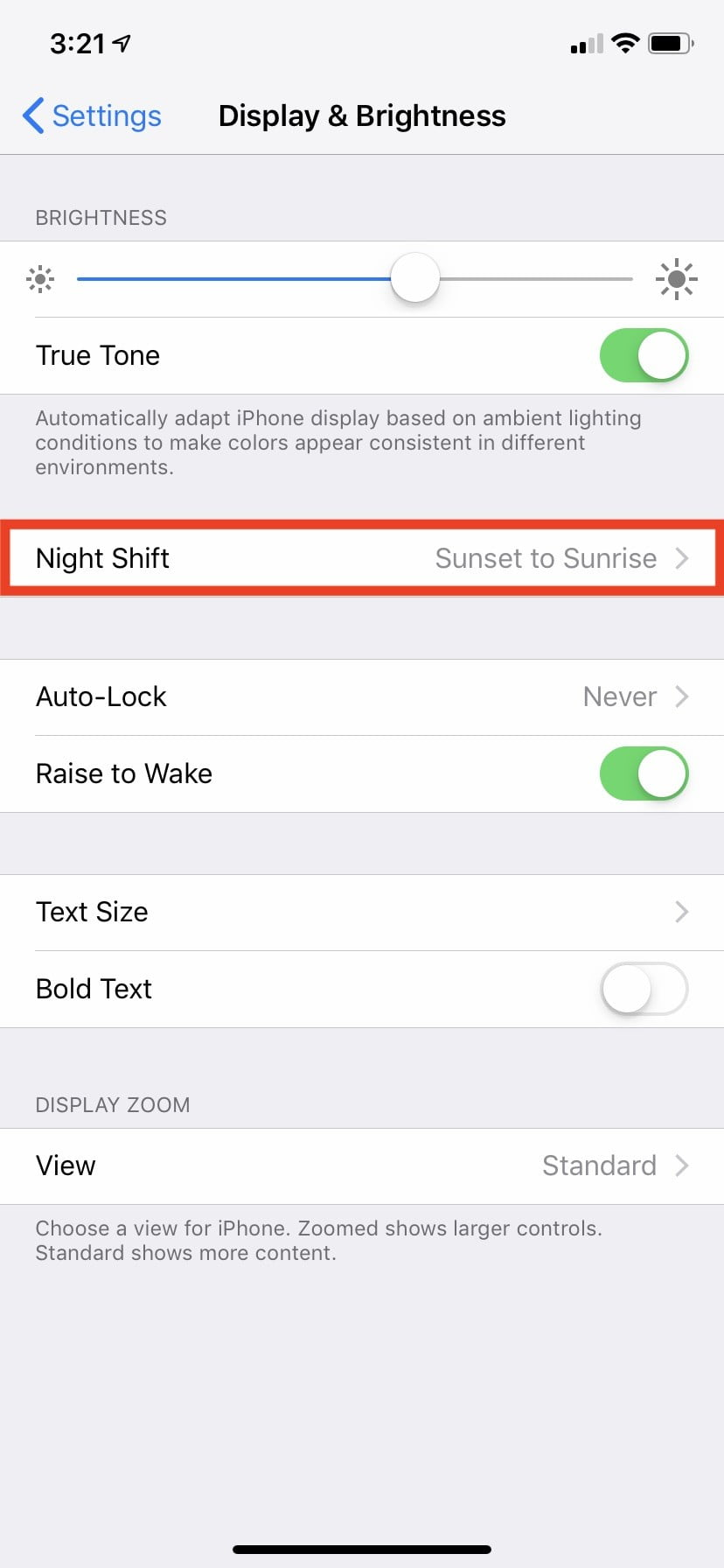 New Iphone Xr 10 Settings You Need To Change Right Now Digital Trends Switch Beside The Tone Pot Is Used Be Able Off All Night Mode 3