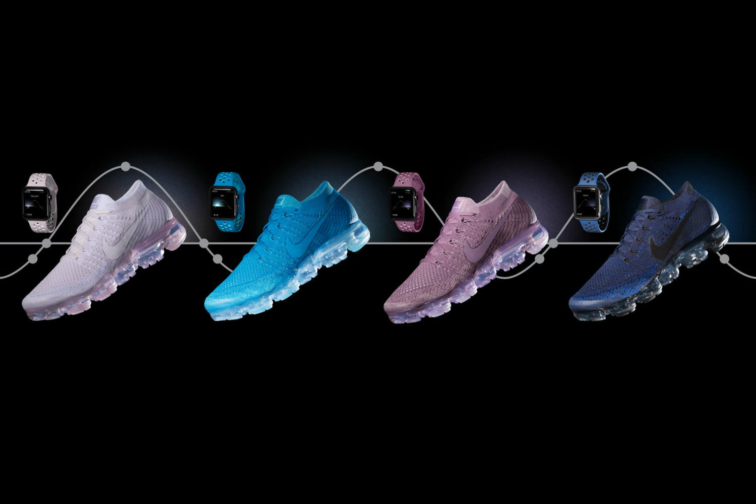 9f89607189 Nike's New Apple Watch Bands Match Your Cool New VaporMax Sneakers |  Digital Trends
