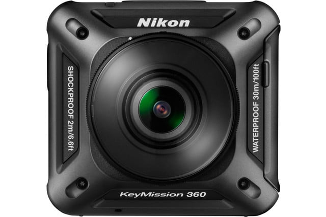 nikon keymission 170 80 action cam keymission360 front