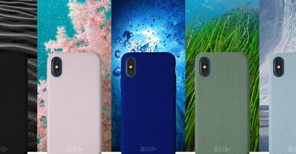 quality design 8cb40 33154 Nimble's New iPhone Cases Made From 100% Recycled Plastic Bottles ...