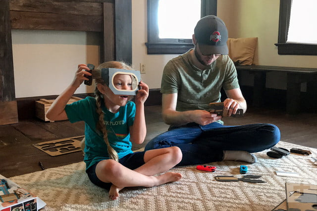 nintendo labo robot kit product experience review mask