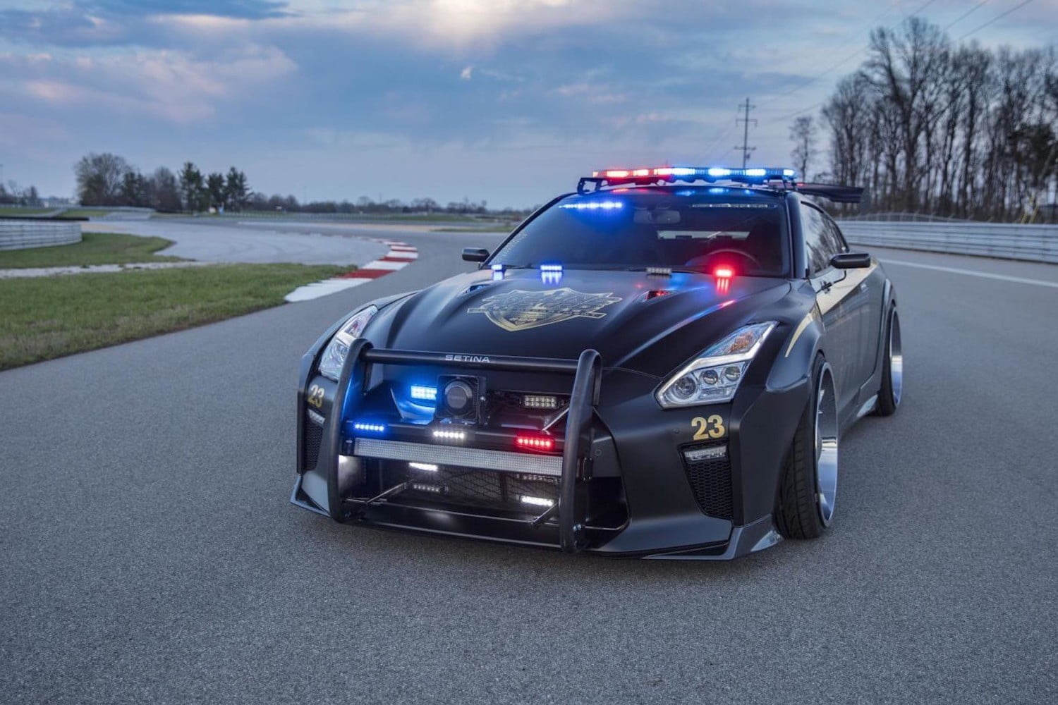 Meet Copzilla A Tricked Out Nissan Gt R Built To Fight Crime