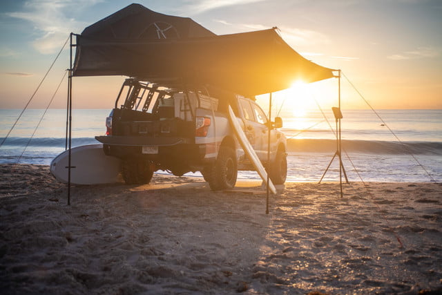 Nissan Titan Surfcamp Project Truck Is Ready For The Beach