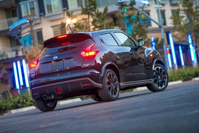 nissan juke nismo rs perfect car unhinged driver rear