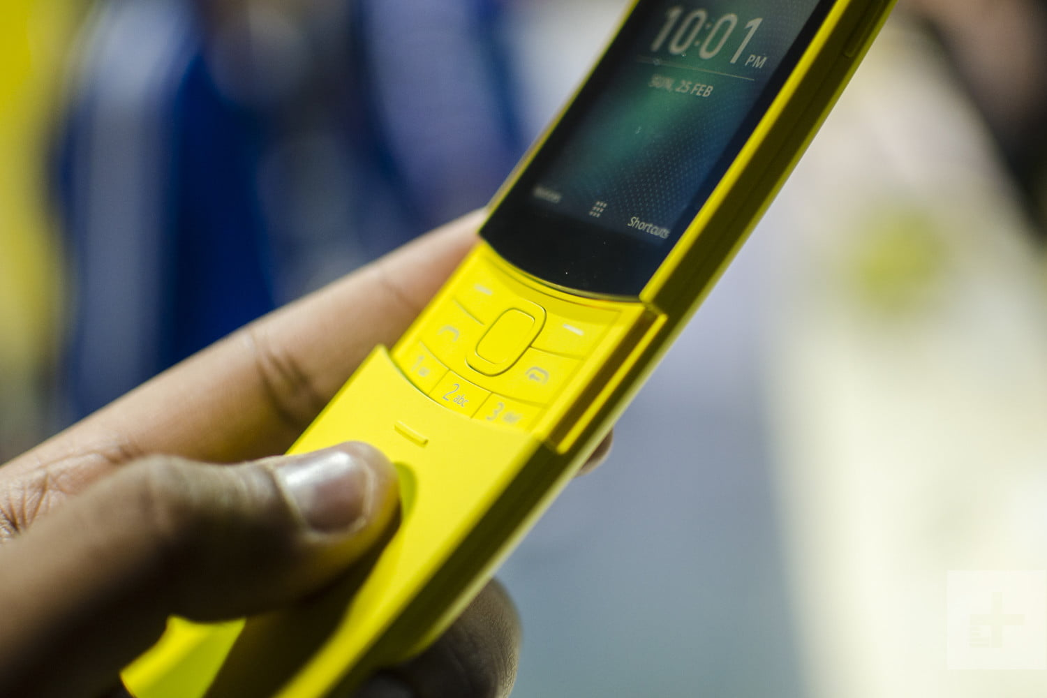 e496d0d8e243e0 Nokia 8110 4G Hands-on Review | Digital Trends