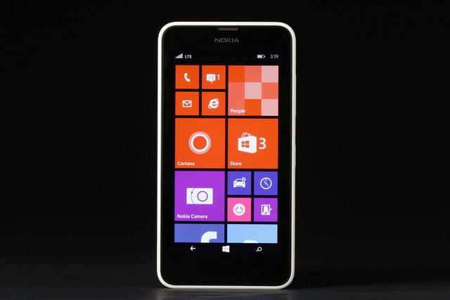 Nokia Lumia 635 front home